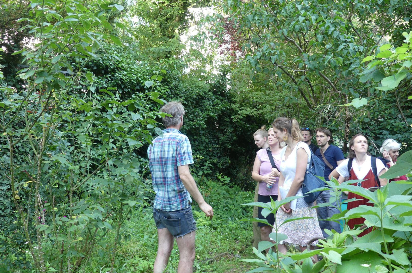 Exkursion Gemeinschaftsgärten Neukölln